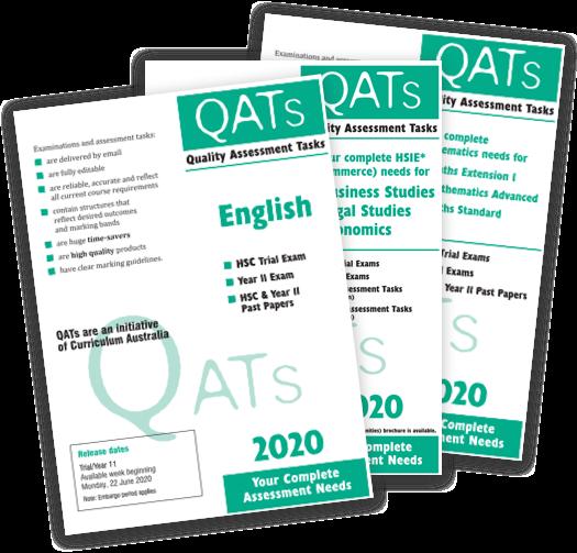 QATs - NSW (HSC / Year 11)